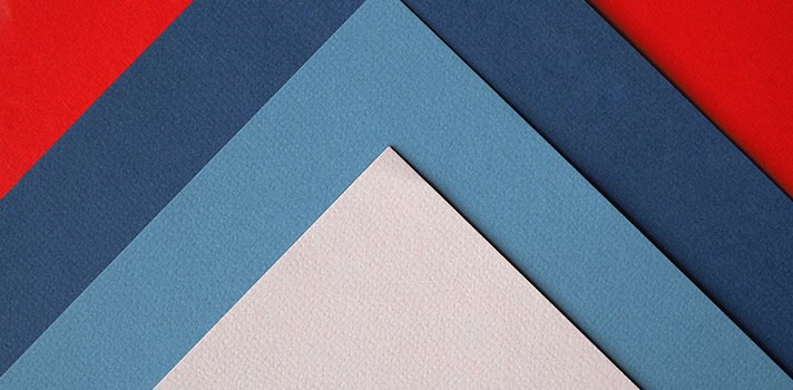 verschillende kleuren behang